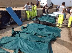 ++ Strage Lampedusa 3 ottobre, fermi e avvisi garanzia ++