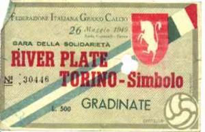 26 maggio 1949 Torino Simbolo