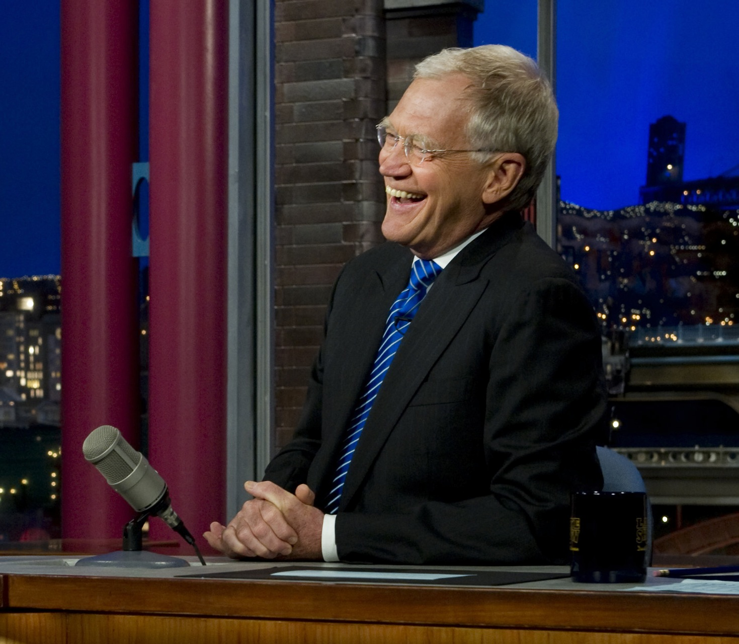 RE DAVID – LETTERMAN SHOW, L'ORA DELL'ADDIO