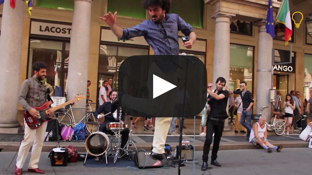 IDEALSOUND: The Buskers street band