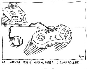 la potenza non è nulla senza il controller