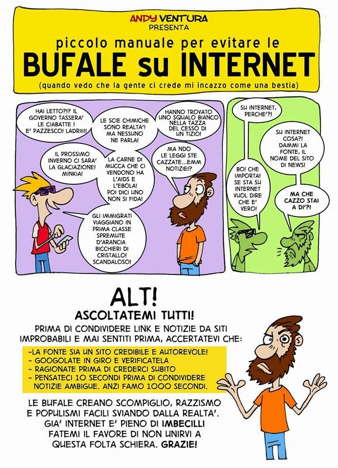 BALLE SOCIAL(I) – IL PERICOLO DI CREDERE ALLE BUFALE SUL WEB