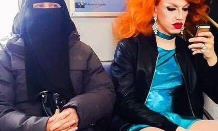 La drag queen e la donna con il niquab, la rivoluzione nella quotidianità