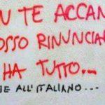 Caro Politico, la lingua italiana non è un optional