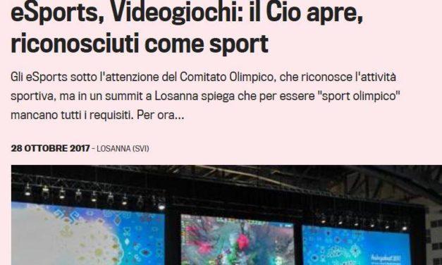 Videogiochi e Olimpiadi – Cosa non si fa per qualche spettatore in più