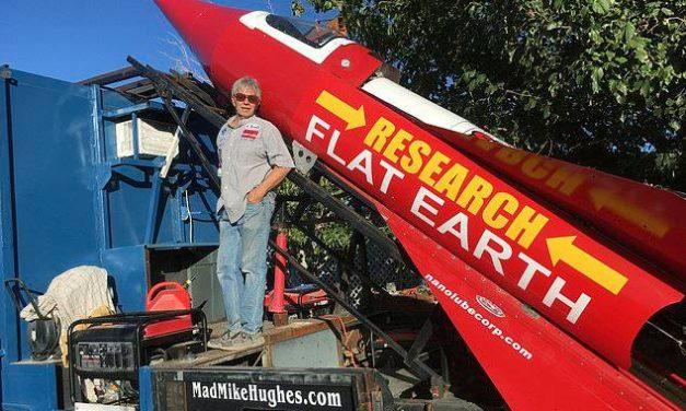 Un terrapiattista si lancerà nello spazio con un razzo costruito in garage