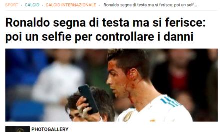 Palloni sgonfiati – Cristiano Ronaldo, uomo vero