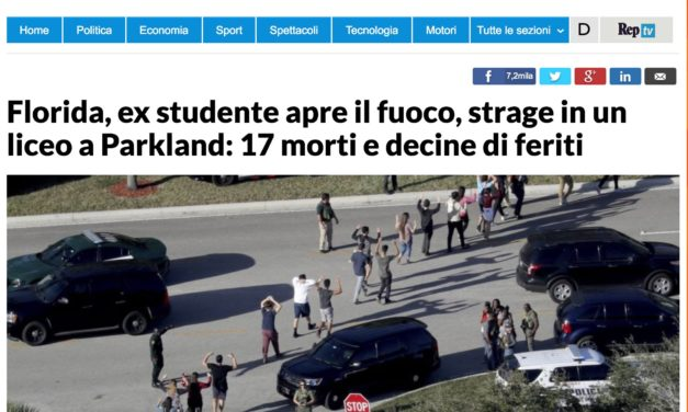 Sparatoria in Florida, un'altra solita strage americana