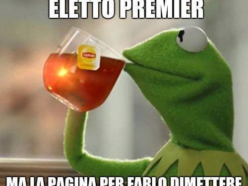 Conte e la Repubblica fondata sui meme