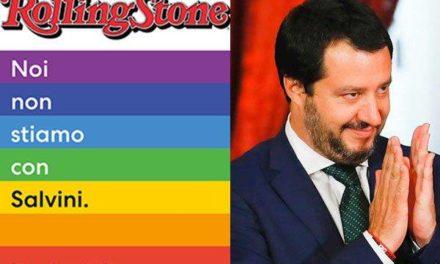 Salvini e Rolling Stones – Se sei cattivo ti tirano le pietra