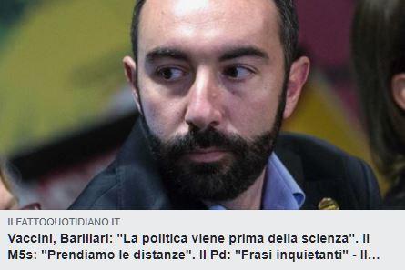 La politica prima della scienza