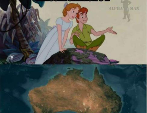 L'ultima dei terrapiattisti. l'Australia non esiste, esiste solo nelle vostre menti