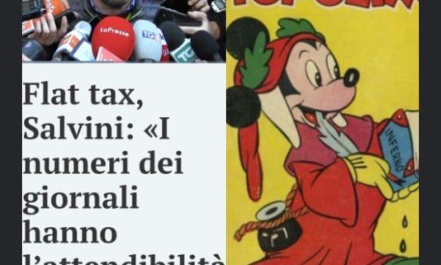 LA DIFFERENZA TRA SALVINI E 'TOPOLINO'? 'TOPOLINO' QUALCOSA DI BUONO PER GLI ITALIANI LO HA FATTO