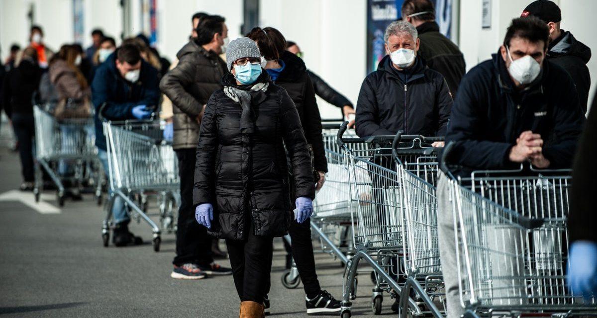 I GIORNI DEL VIRUS – LE IMMAGINI CHE CI RESTERANNO DENTRO EPISODIO 5 – IL SUPERMERCATO