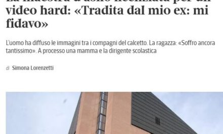 ITALIA, 2020: BENVENUTI NEL PAESE DELL'ETERNO 'COLPA SUA, SE L'E' ANDATA A CERCARE'