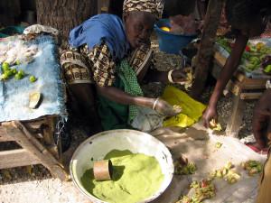 Lalo_-_Baobab_tree_dry_green_leaf_powder,_Senegal